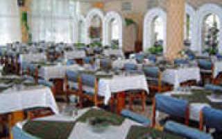 Услуги питания в гостиницах 2017