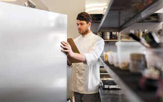 Оборачиваемость материалов в блюдах