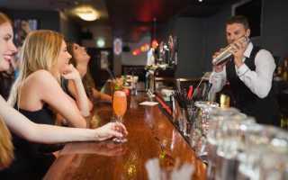 Правила работы бармена