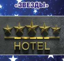 Классификация и категория гостиничных услуг