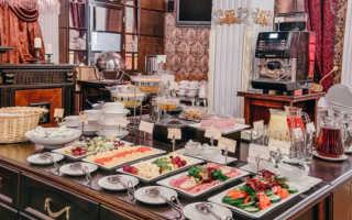 Шведский стол завтрак меню