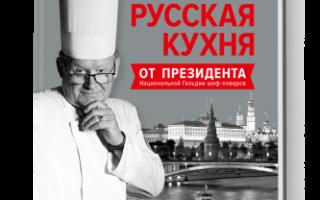 Александр филин президент национальной гильдии шеф поваров