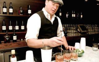 Расстановка алкоголя в баре