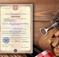 Алкогольная лицензия для бара