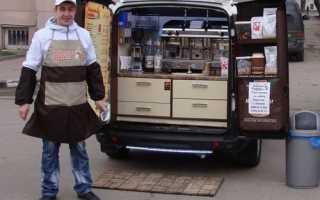 Мобильные кофемашины на колесах
