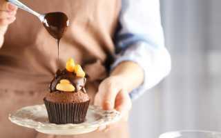 Оформление сладких блюд