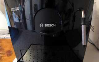 Bosch tca 5309 инструкция на русском