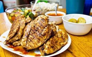 Блюда из курицы в ресторане