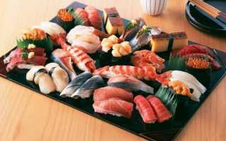Водоросли в японской кухне