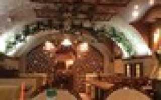 Кафе рестораны кавказской кухни