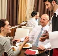 Обучение официанта с нуля