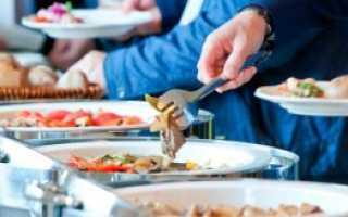 Метод елочки у официантов