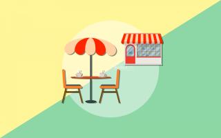 Открытие летнего кафе