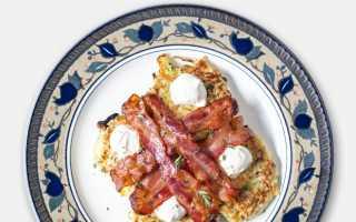Завтраки в кафе меню рецепты