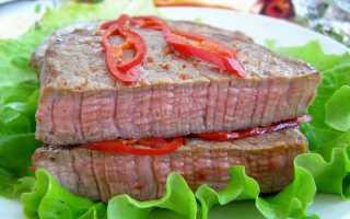 Как называется мясо с кровью блюдо