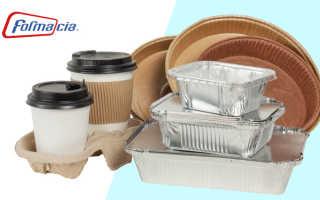 Упаковка готовых блюд на вынос