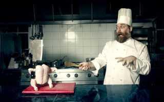 Планировка кухни в кафе