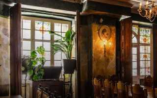 Черный ресторан в москве