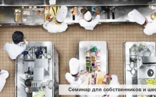 Как организовать работу кухни