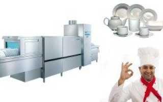 Посудомоечная машина для кофейни