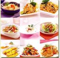 Виды кухни в ресторанах