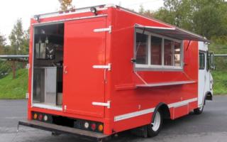Кухни на колесах б у