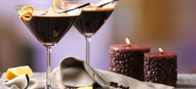 Кофейный алкогольный напиток