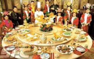 Кухня китая особенности