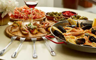 Популярная кухня в ресторанах
