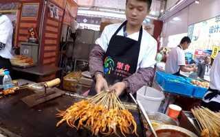 Технологический процесс приготовления салатов кухни китая
